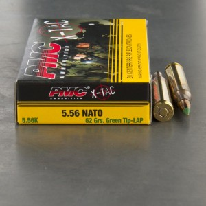 600rds – 5.56 PMC X-TAC Battle Pack 62gr. FMJ M855 Green Tip - LAP Ammo