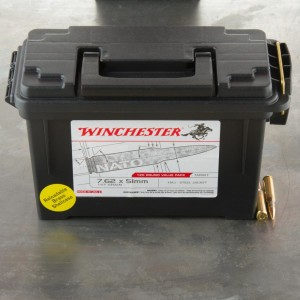 240rds – 7.62x51mm Winchester (Ammo Can) 147gr. FMJ Ammo