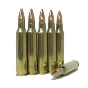 1000rds - .223 DRS 55gr. FMJBT Ammo Once Fired Brass